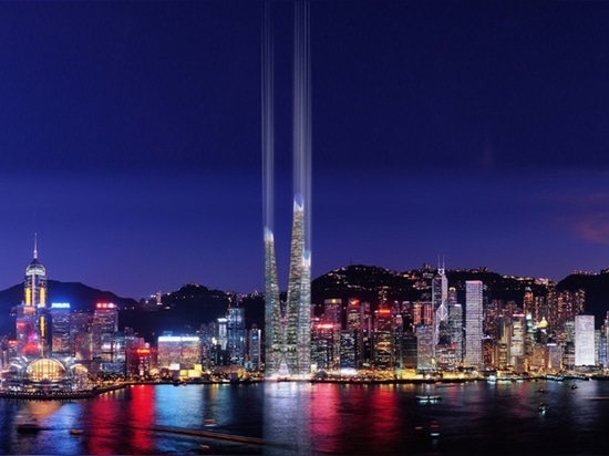 Self-sustaining Arcology Tower would bring urban agriculture to the heart of Hong Kong
