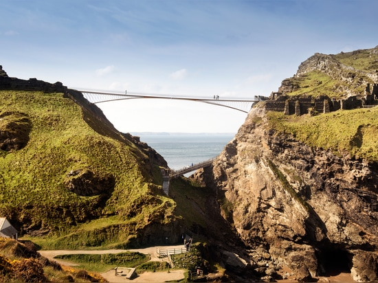 Winning bridge selected for Cornish castle associated with King Arthur