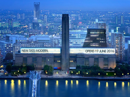Anticipation is growing as the countdown begins for the opening of the Tate Modern extension early this summer. Image courtesy Hayes Davidson and Herzog & de Meuron