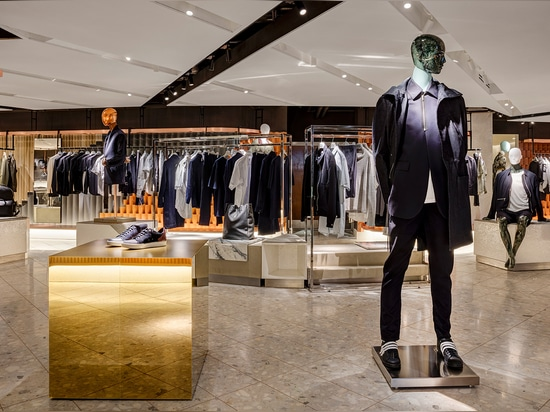 Harvey Nichols unveils its new menswear concept space that marks the first step in the retailer's 4-year, Knightsbridge flagship refurbishment   Read more at http://www.wallpaper.com/fashion/harvey...