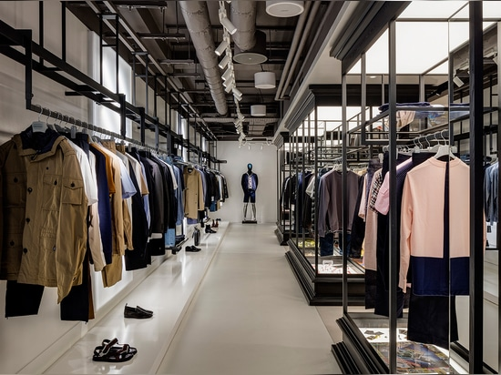 Working with retail specialists Virgile + Partners, the architectural firm has completely overhauled the store's two lower ground floors   Read more at http://www.wallpaper.com/fashion/harvey-nicho...