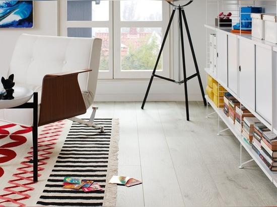 NEW: HDF laminate flooring by PERGO