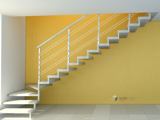 NEW: straight staircase by Scale nilur