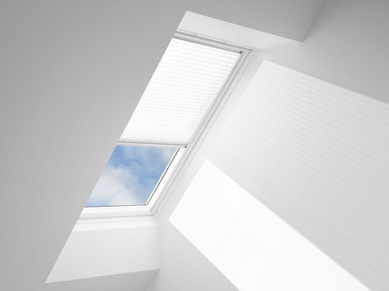 NEW: pleated blinds by VELUX