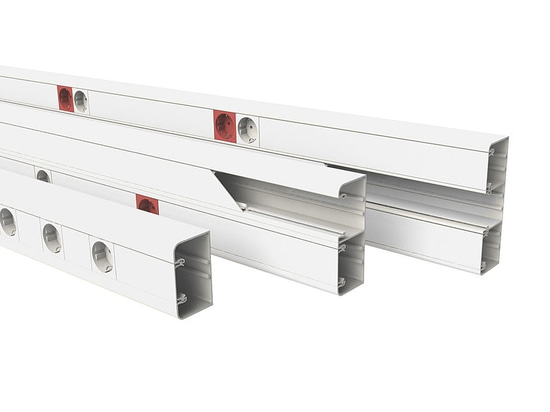 NEW: PVC cable trunking by BASOR Electric,