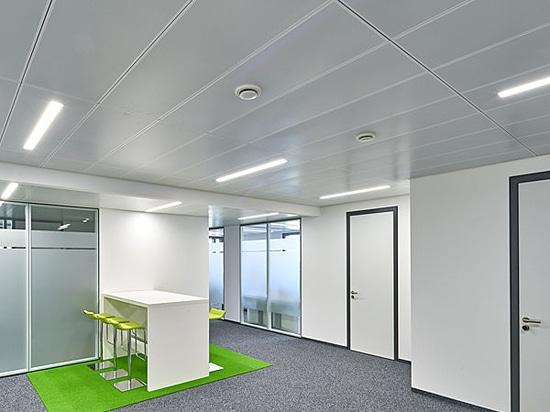 Sustainable office and practice building in Leutkirch, Allgäu, Germany