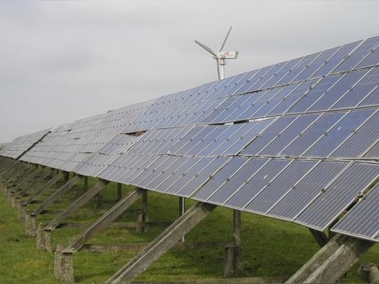Clouds Solar Panels