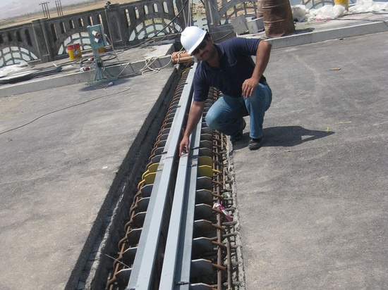 NEW: elastomeric expansion joint by Mageba
