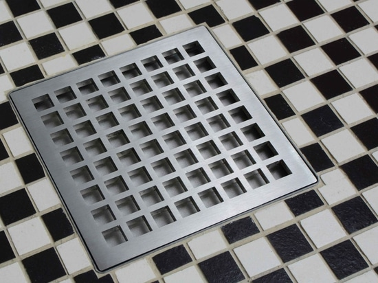NEW: Shower Drain Box Grate By Infinity Drain NEW: Shower Drain Box Grate  By Infinity Drain
