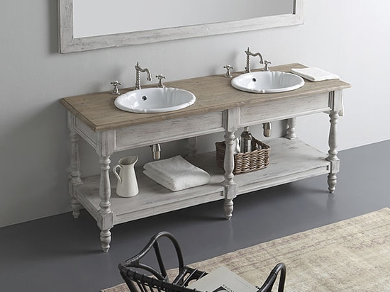 Fine wood furniture for your bathroom!