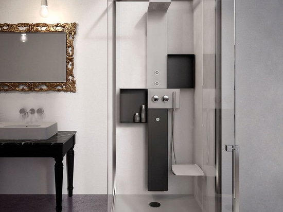 NEW: multi-function shower cubicle by GLASS 1989