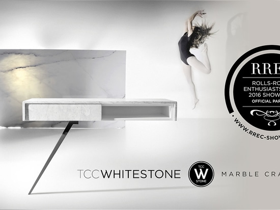 Portuguese marble crafters of TCC Whitestone, official partner at Rolls Royce Enthusiasts Club 2016 showcase
