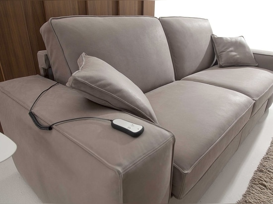 Eleven sofa bed, the first automatic sofa bed