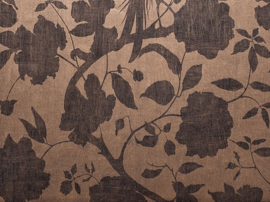 Senso: the new wallpaper in Saraceno collection