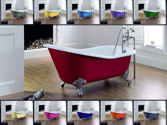 1500 colors for your cast iron bathtub ... the choice is all yours!