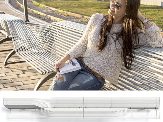 Libre Evolution benches Design Alfredo Tasca