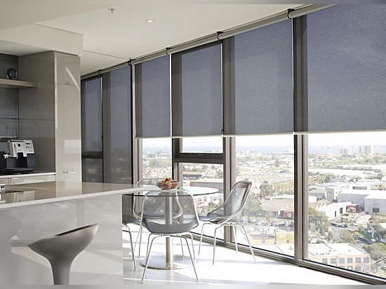 Screen roller blinds