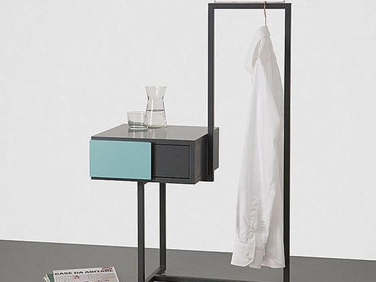 Teca Bedside Table Dressboy, design Alfredo Häberli