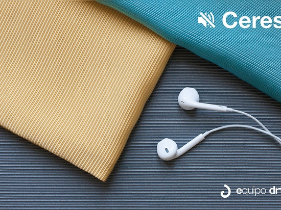 Ceres and Dedalo, certified acoustic fabrics