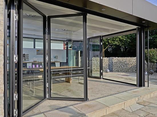 Multiple Award Winner: Folding Glass Door SL 82