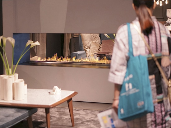 Planika''s Intelligent fire set alight the Milan Design Week