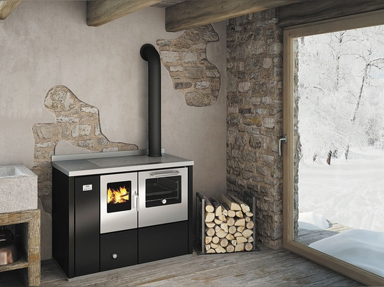 New wood burning thermo-cooker EKB110