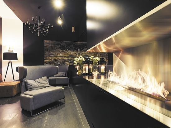 The Line - a design foundation merging Italian style with limitless flames