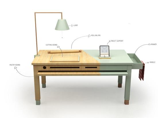ALFREDO TABLE BY TAGMI DESIGN