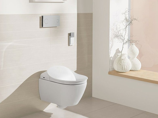 The well-being of pure cleanliness – Five reasons for a shower toilet by Villeroy & Boch