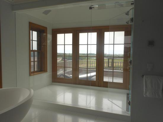 Privacy Glass Bathroom