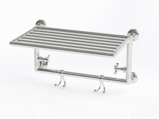 Design, Retro and practical: the ideal wall mounted towel rail heater!
