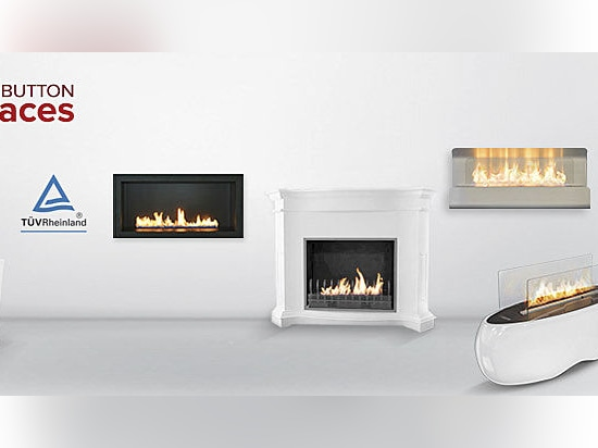 Push Button Fireplaces - one of the safest smart-use fire solutions