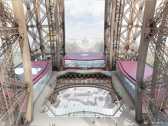LITE-FLOOR, an anti-slip glass slab floor, has fitted the first level of the Eiffel Tower in Paris