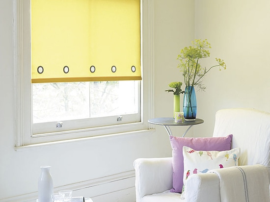 Custom finishes for rollers blinds