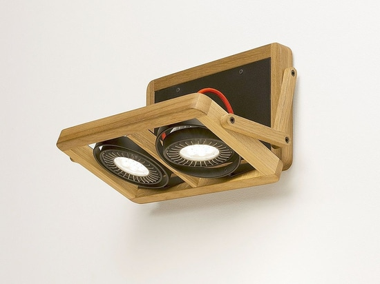 ARBO. Unique combination of wood and LED technology.