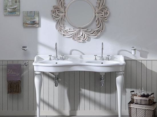 New Double Washbasin by the retro syle bathroom specialist
