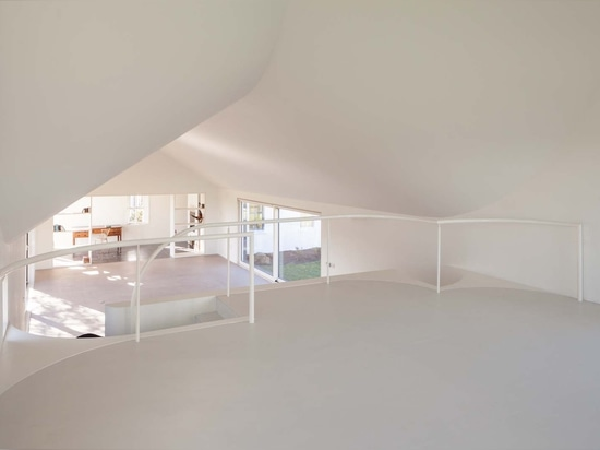...creating a raised space inside...