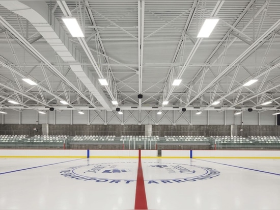 CCM2 + CLC Architects, Complexe sportif Marc‐Simoneau. Photo: Stéphane Groleau