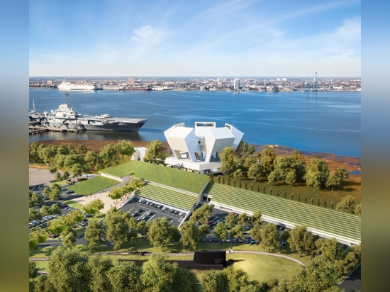 Safdie Architects has also designed a five-pointed museum to honour American war heroes in South Carolina