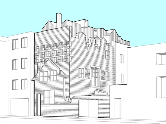 Griffiths has been granted planning permission to build a new storey on the roof of the Blue House