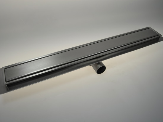 Line 3070 - Inoxsystem® Italia drain Channels - stainless steel - removable odor trap and filter - waterproof membrane holder