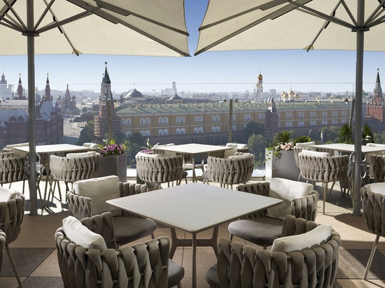 RITZ-CARLTON MOSCOW, TERRACE WITH A VIEW...
