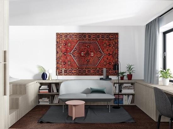 Apartment Interiors - Residential - Architecture and design ...