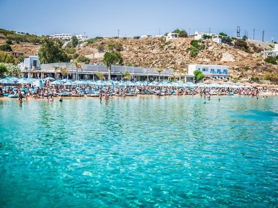 New Nammos Mykonos beach project by Seora
