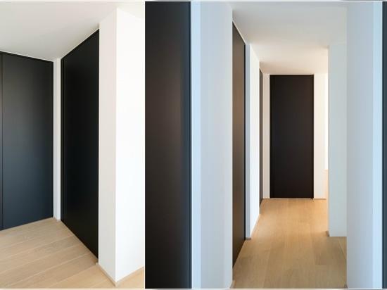 All black interior doors
