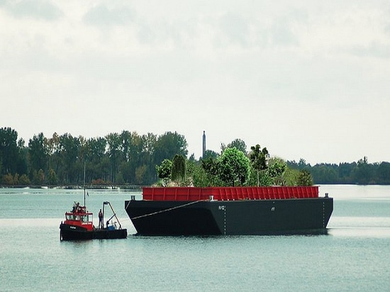 NYC: A Floating Food Forest
