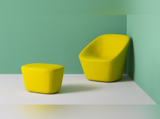 Log Lounge and pouf by Manuela Busetti, Andrea Garuti and Matteo Redaelli