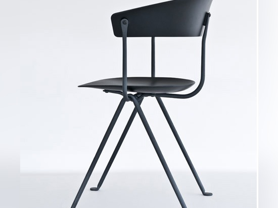 Bouroullec brothers forge wrought-iron frames for Officina furniture