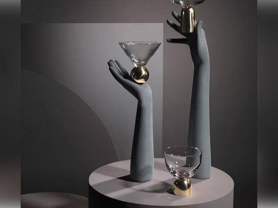 Glass on Brass