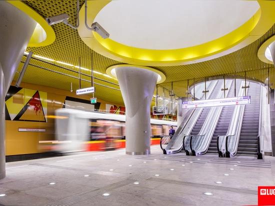 Second Line of Warsaw Metro, Warsaw, Poland